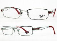 Ray-Ban Damen Herren Brillenfassung RB6193 2501 51mm silber Vollrand 407