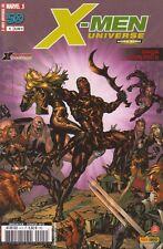 X-MEN UNIVERSE HORS SERIE N° 1-2-3-4 Marvel France 2ème série comics Panini
