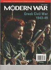 MODERN WAR Magazine #11 May/June 2014, GREEK CIVIL WAR 1943-49 (Only Magazine)