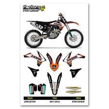 2011-2012 KTM SX/SXF Team JDR JSTAR Racing KTM Graphics Made by Enjoy MFG