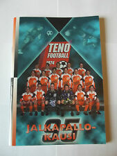 Finland / Finnish Football Programme