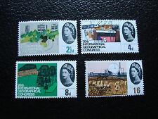 ROYAUME-UNI - timbre yvert/tellier n° 387 a 390 n** (A8)stamp united kingdom(T