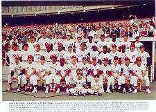 1974 ALL STAR NATIONAL LEAGUE TEAM  8X10 PHOTO  BASEBALL AARON ROSE BRETT BENCH