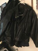 wilsons leather jacket women
