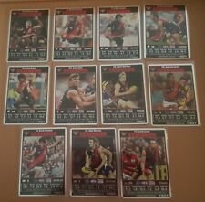 2008 AFL Teamcoach Prize Cards Team Set Essendon Bombers (11)