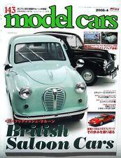 "Neko Model Cars #143 British Saloon Cars""Japanese Modeling Magazine 2008-4 April"