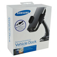 Genuine Samsung Vehicle Dock+Fast Car Charger+ Micro Cable For S7 Edge/S7/S6 EDG