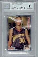 2009-10 Stephen Curry Panini Sticker Rookie #263 BGS 9 w10 (POP 2)