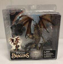 McFarlane's Dragons Fall of the Dragon Kingdom Sorcerers Dragon CLAN 4 RARE NIP