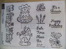 WtW Stampin Up Something Celebrate Stamp Scrapbook Cardmaking New NIB Unmounted