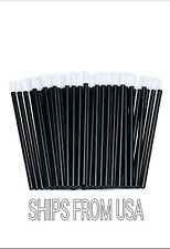 Disposable Lip Brushes Lipstick Applicators 200pc Make Up Lip Gloss Wands Tool