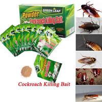 Effective Powder 50pcs Cockroach Killing Bait Roach Killer Pesticide Insecticide