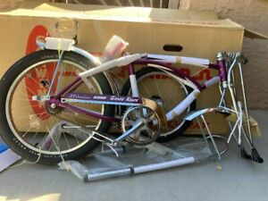 Schwinn Stingray Grape Krate In Box Repro  Bike Shop Quality  1999