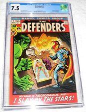 The Defenders #1 CGC 7.5 Marvel 1972