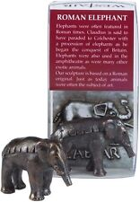 Ancient Roman Elephant Hannibal Alps Miniature Statue 8783