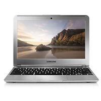 Samsung Chromebook 11.6 Laptop 1.7GHz, 2GB Ram, 16GB SSD, Silver Webcam XE303C12
