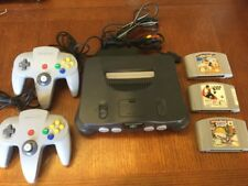 Nintendo 64 Console System Complete N64  - Tested Works Great 3 Games