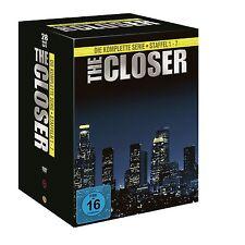 THE CLOSER 1-7  DVD KOMPLETTBOX STAFFEL SEASON 1 2 3 4 5 6 7  DEUTSCHE VERSION
