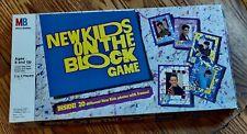 Vintage 1990 New Kids On The Block Board Game Milton Bradley