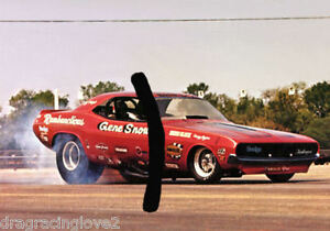 """Gene Snow """"Rambunctious"""" 1970 Dodge Challenger A/Funny Car PHOTO!"""