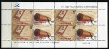 Albanien Albania 2009 Staatsarchiv Bücher Kleinbogen 3324-25 Postfrisch MNH