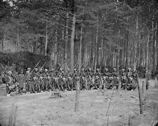 Union Army 114th PA Infantry Bayonets Petersburg, VA - 8x10 US Civil War Photo