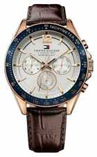 Tommy Hilfiger Casual Analog Mens Blue Watch 1791112 1791118