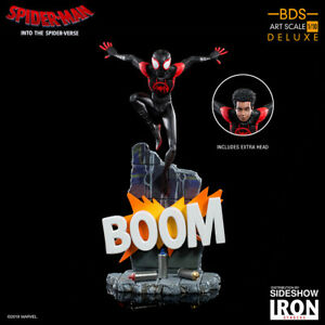 Iron Studios Marvel Spider-Man Into the Spider-Verse Miles Morales Statue New
