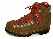 Alpine Mountaineering Rugged Rustic Tan Leather Boots Men's Sz. 6.5 Wns. 8.5