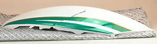 Piaggio genuine right rear cover, white/green, for Gilera Gp 800 Centenario
