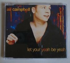 ALI CAMPBELL ~ Let Your Yeah Be Yeah ~ CD SINGLE