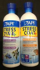 Api Stress coat and Stress Zyme Twin Pack 473ml each