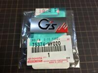 Toyota Supra ETCS Emblem Plate Genuine Toyota OEM 11277-46080
