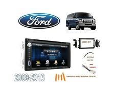 2009-2013 FORD ECONOLINE FULL SIZE VAN STEREO KIT, BLUETOOTH USB TOUCHSCREEN DVD
