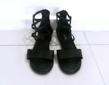 Women Gladiator Black Sandle, Size 6 RRP $99