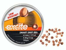 H&N Excite Smart Shot BBs BB .177 4.50 mm 750 pcs 7.4gr PELLETS AIRGUN PELLETS