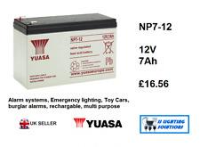 NP7-12 12 V 7Ah 20 H ORIGINALE YUASA piombo acido batteria ricaricabile NP6-12 EMERGENZA