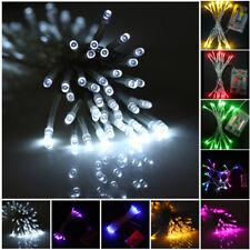 10M LED ficelle lumière féerique à piles Lumières De Noël Lampe Fête