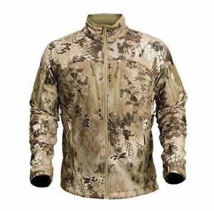 NEW Kryptek Men's Waterproof Cadog Shield Jacket, Highlander Medium