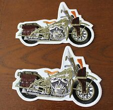 Harley Military 45 WL Army Patch Set of 2 New (943)