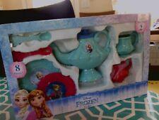 Disney Frozen Princess Tea Set New Light Blue And Pink