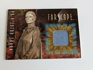 Farscape Season 1 Pa'u Zotoh Zhaan Costume Relic card C3 - NM - Rittenhouse RA