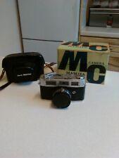 1960's Rank Mamiya 35mm Rangefinder Camera & Case (3002)