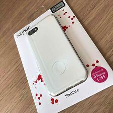 iPhone 5 SE 5S  Original Xtreme Flexible Case Slim Impact Resistent Gel White