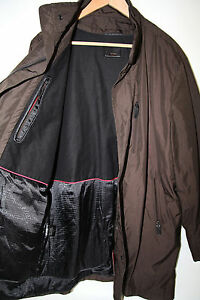 #275 TUMI Polyester Water Resistant Coat Removable Liner Size L new  MSRP$595