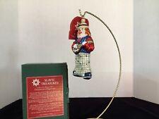 """Barney"" (Clown) 5.5"" Slavic Treasures 01-465A Ornament-Clowning Series Nib"