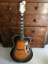 Danish Maker Hans Frederik Jensen 1950's archtop guitar SINGLE-Jensen model