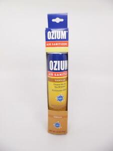 Ozium Air Sanitizer & Odor Eliminator for Homes, Cars, etc. Vanilla 3.5 oz. 1 Pk