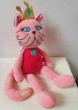 New Russ Berrie Princess Cat Dede Toy Plush Comforter Crown Jewel FAST POSTAGE