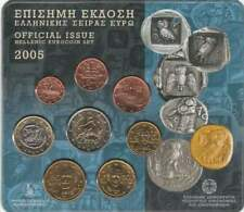 Griekenland BU set 2005 / 1 cent - 2 euro KMS